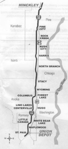 Proposed Rush Line Route